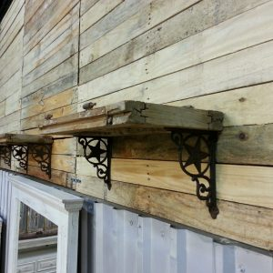 SHUTTER SHELF RECLAIMED