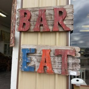 BAR - EAT SIGN