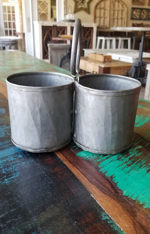 HANGING TIN CUPS