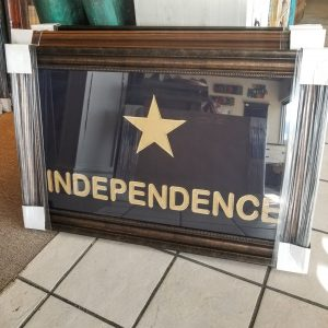 TEXAS PICTURES - INDEPENDENCE FLAG