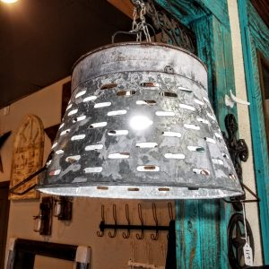 OLIVE BUCKET LIGHTS - HALF