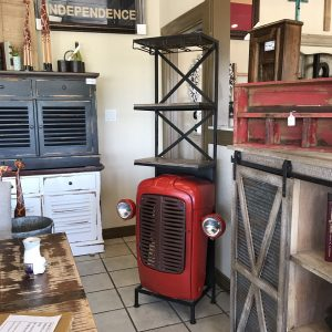 TRACTOR WINE CABINET