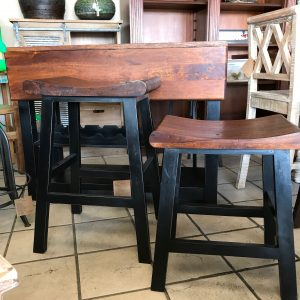 TWO TONE BAR & COUNTER STOOLS