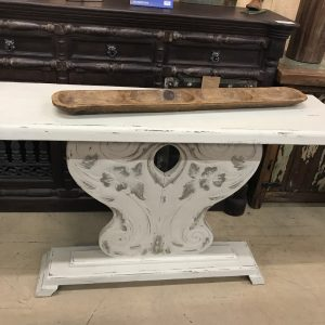 FLORAL DESIGN SOFA TABLE