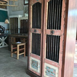 OLD TOWN IRON CABINET