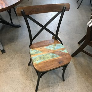 INDUSTRIAL RECLAIMED CHAIRS