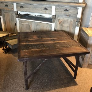 Reclaimed Industrial Coffee/ End Table