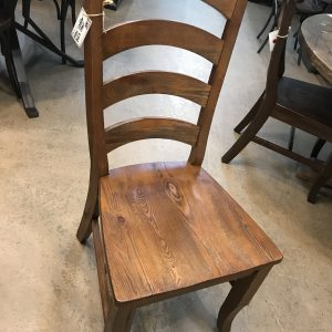 PINE LADDER BACK CHAIR